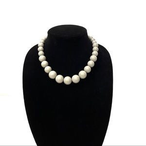 Jewelry - Grey Pinup Beaded Necklace